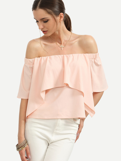 pink_off_the_shoulder_ruffle_blouse