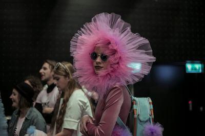 mome fashion show 2016 backstage