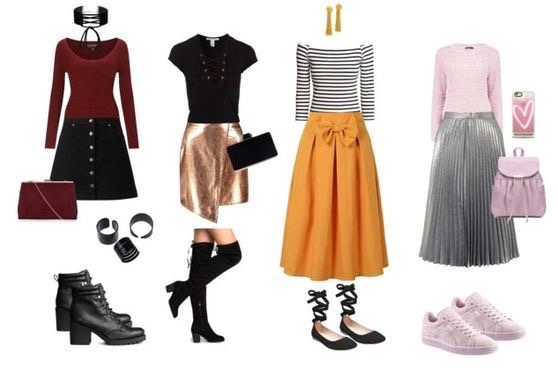 fall skirt trends