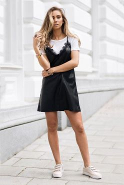 lace camisole with t shirt