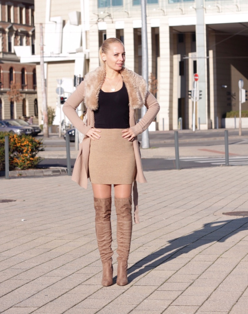 Over the knee boots fall fashion