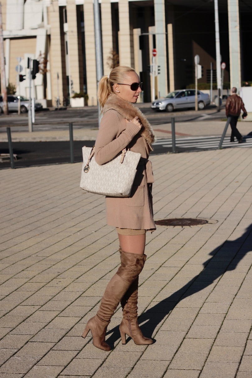 Over the knee boots for fall fashion