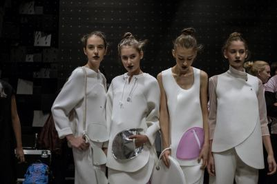 mome fashion show 2016 backstage