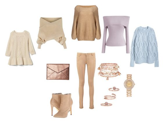 pastel winter sweaters