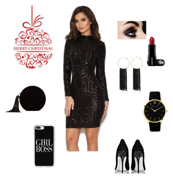 christmas outfit glitter dress
