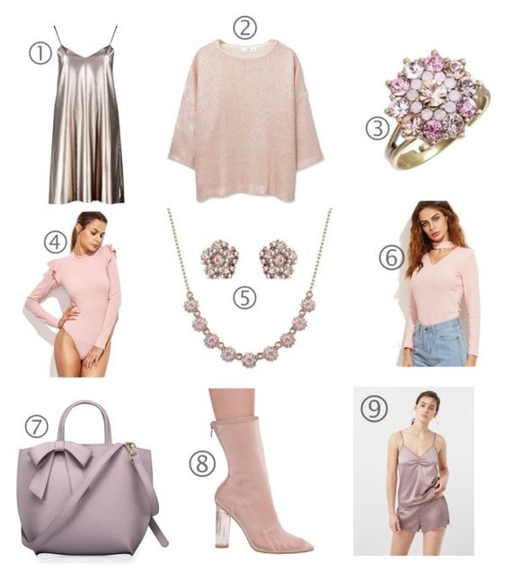 christmas wishlist pastel colors