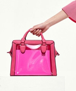 top 10 spring accessories pink vinyl bag