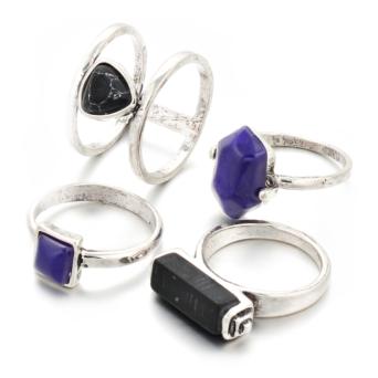 marble ring set