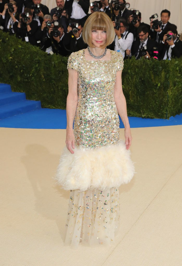 anna wintour chanel dress met gala 2017