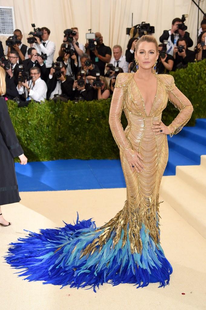 blake lively versace dress met gala 2017