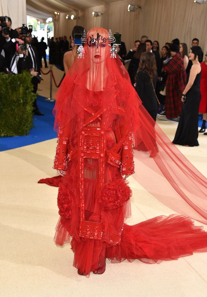 katy perry maison margiela dress met gala 2017