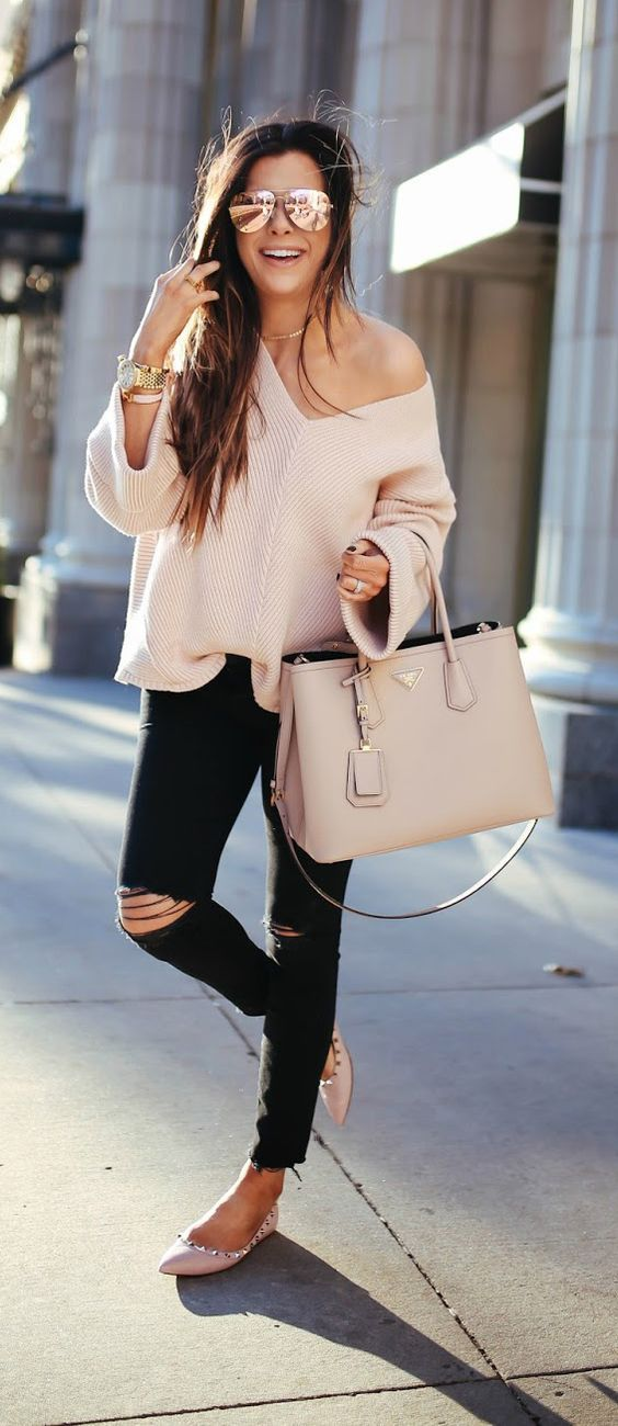 comfy spring outfit