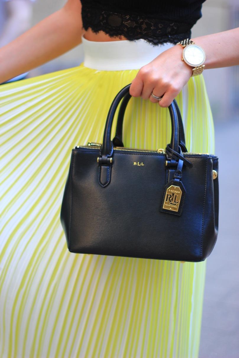 fekete ralph lauren táska
