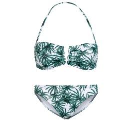 pálmafa mintás bikini