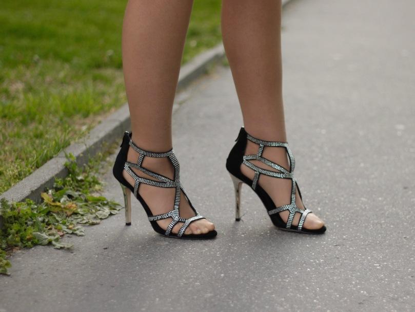 bcbgeneration cipő köves szandál