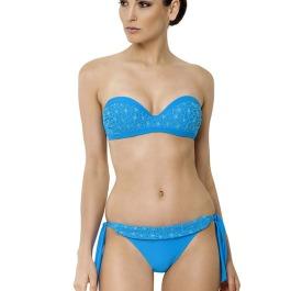 kék nyári bikini