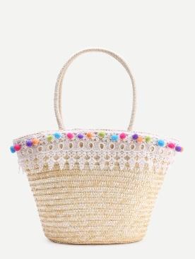 szalma táska