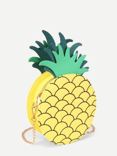 ananász formájú táska