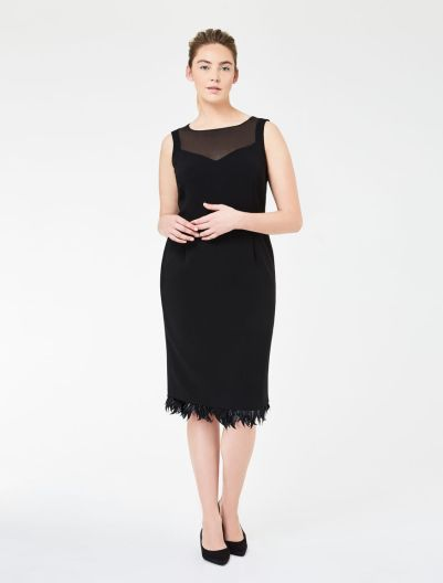 fekete alkami ruha