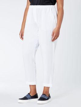 fehér nyári nadrág