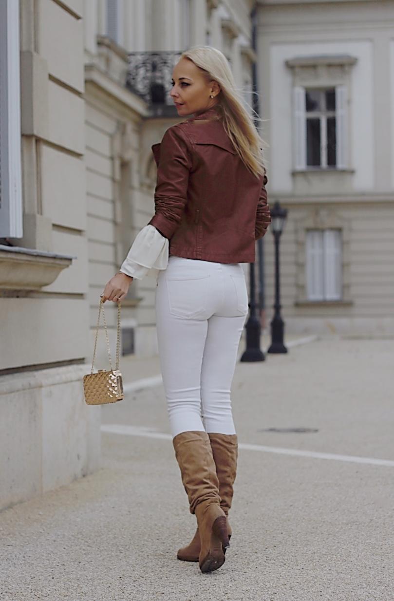 barna dzseki barna csizma