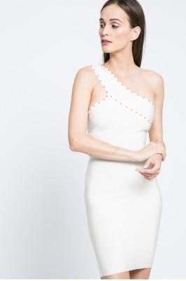 fehér elegáns miniruha missguided