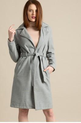 missguided szürke téli kabát