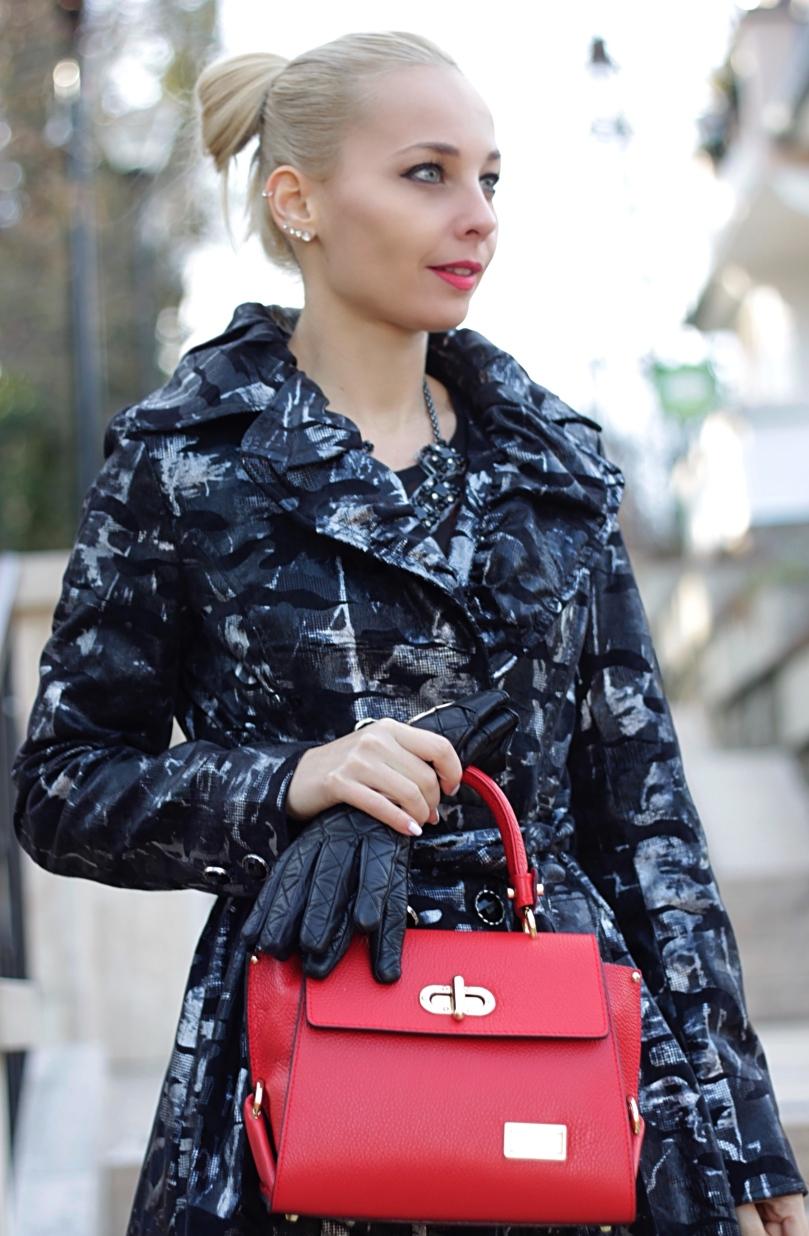 piros livia lippi táska