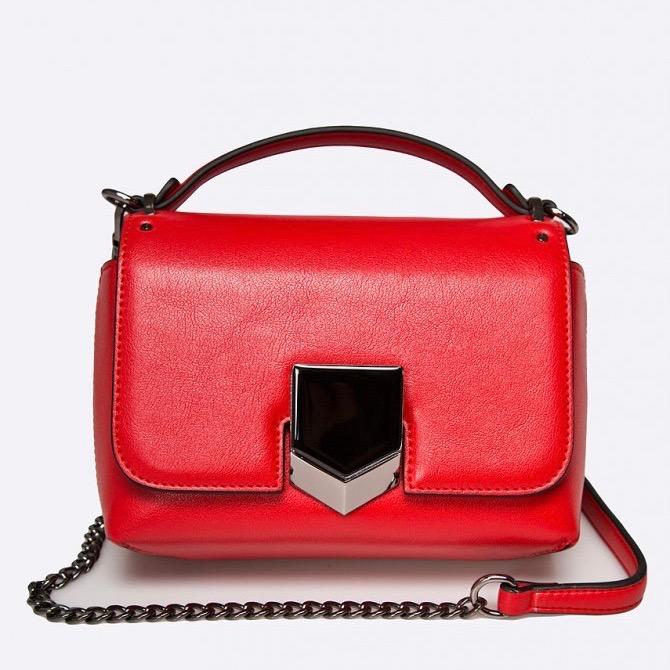 gino rossi piros táska
