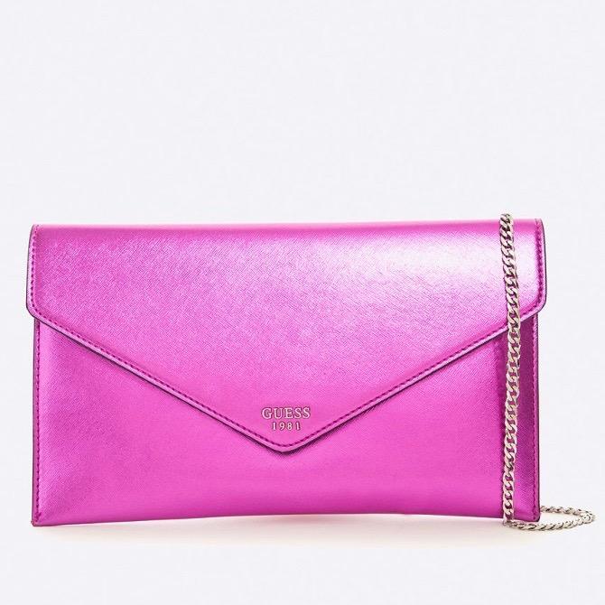 Pink Guess alkalmi táska