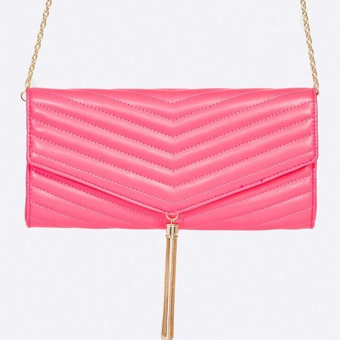 Missguided rózsaszín party táska