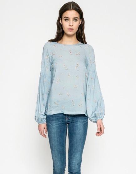 pasztell virágos tavaszi ing