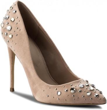 aldo nude tűsarkú cipő strassz kövekkel