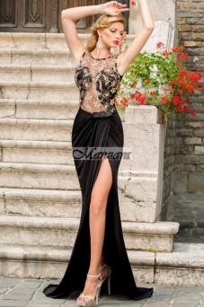 csipke felsőjű maxi alkalmi ruha