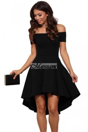 nyitott vállú kis fekete ruha lbd