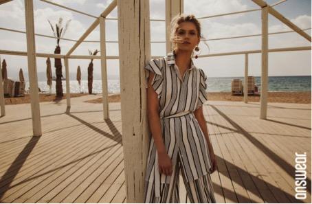 nyari outfit answear stripes vibes kollekció