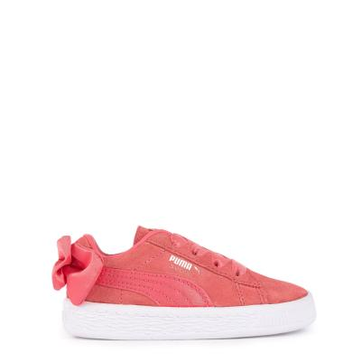new puma sneaker suede bow