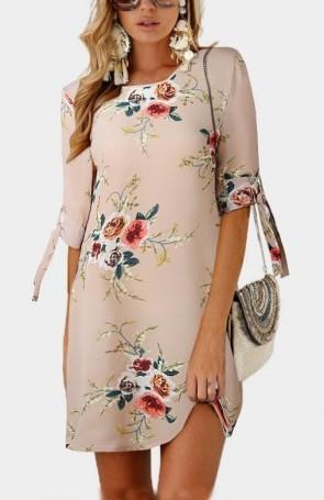 virágos csinos nyári ruha 2018