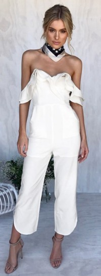 fehér nyári ruha overál