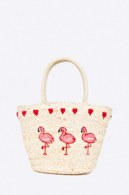 flamingós nyári strandtáska