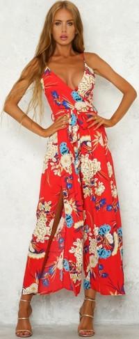virágos nyári ruha overál