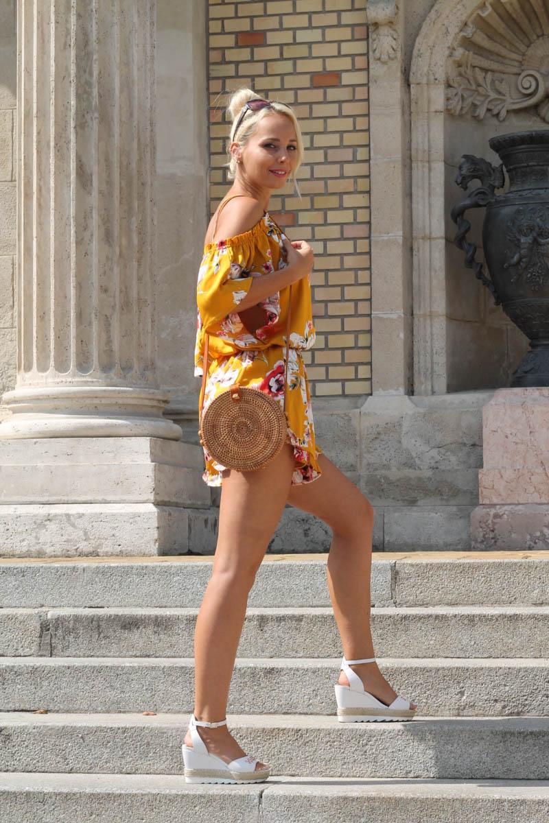 sárga nyári ruha