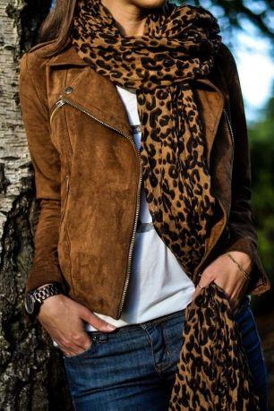 leopárd mintás sál kendő
