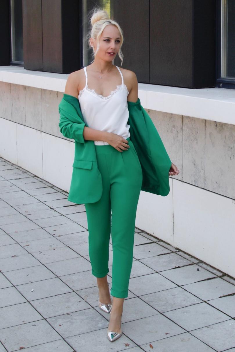 zöld őszi nadrág
