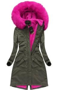 vagány őszi téli kabát