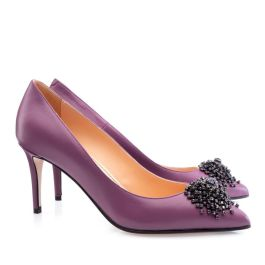 Musette lila elegáns cipő