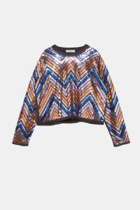 Zara őszi csillogós kabát