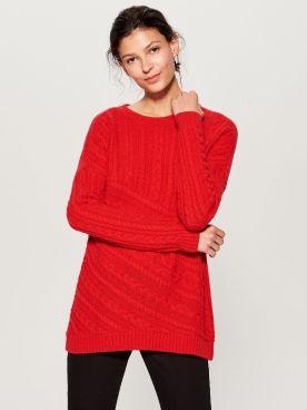 Mohito piros pulcsi