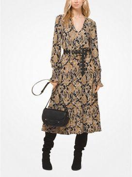 Michael Kors mintás őszi ruha