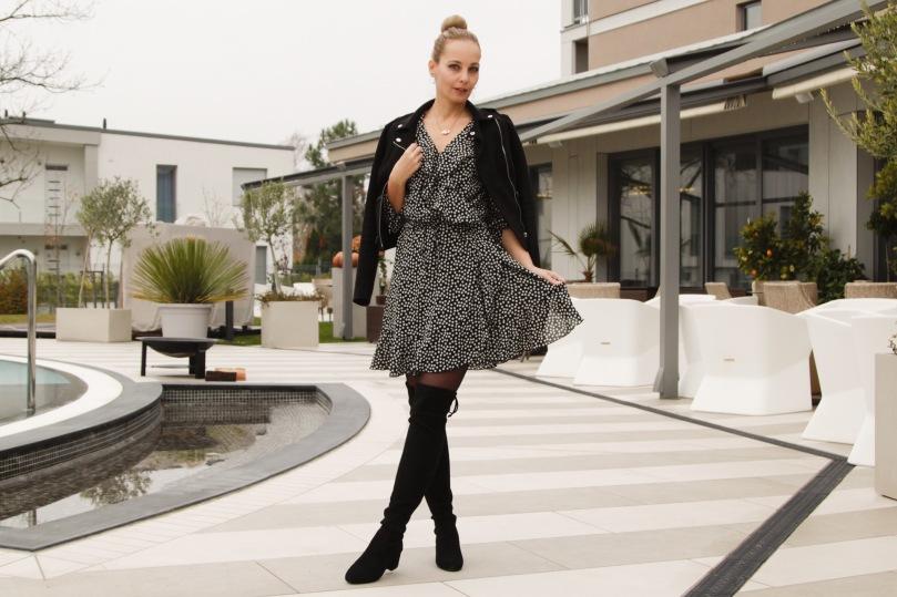 nőies téli outfit